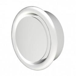 14-0381 Anemostat odvodní s límcem d125 mm, bílý