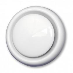 14-0404 Anemostat odvodní d125 mm, bílá