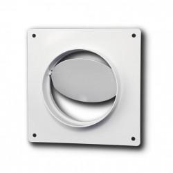 14-3009 Límec/spojka/redukce d100/104 mm se zpětnou klapkou pro kulaté potrubí