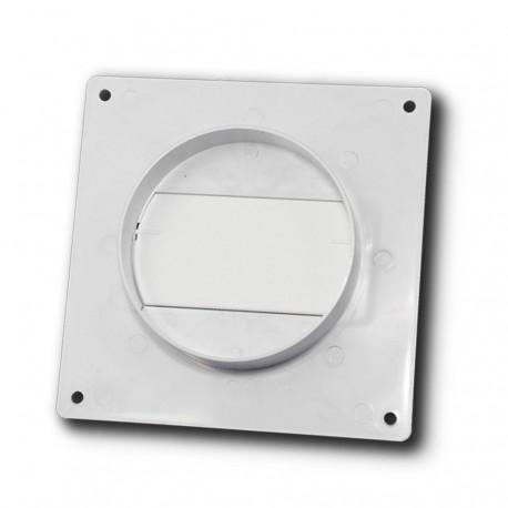 14-3016 Límec/spojka/redukce d110x55/100 mm se zpětnou klapkou pro kulaté potrubí