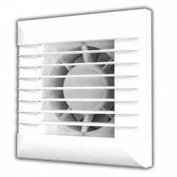 59-0390 Ventilátor EURO d100 mm s automatickou žaluzií