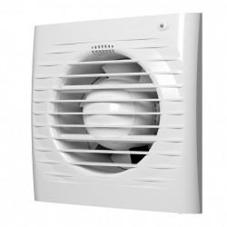 59-0747 Ventilátor ERA d100 mm s časovačem a síťkou proti hmyzu