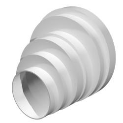 59-1127 Redukce kulatá d80-100-120-125-150-160 mm, vyosená