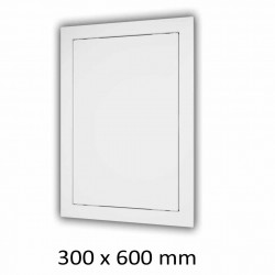 59-1321 Plastová revizní dvířka 300 x 600 mm s montážním límcem