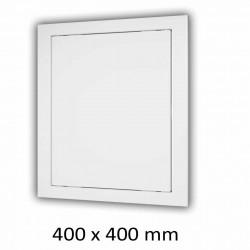 59-1323 Plastová revizní dvířka 400 x 400 mm s montážním límcem