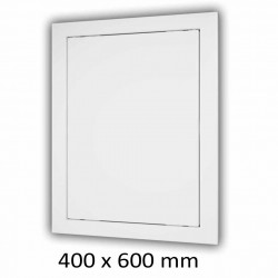 59-1327 Plastová revizní dvířka 400 x 600 mm s montážním límcem