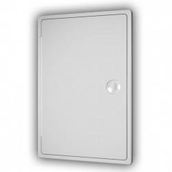 59-1360 Revizní dvířka plastová 200 x 300 mm plochá, bílá
