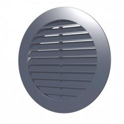 59-1454 Venkovní větrací mřížka s límcem d125 mm, šedá
