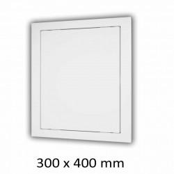 59-2861 Plastová revizní dvířka 300 x 400 mm
