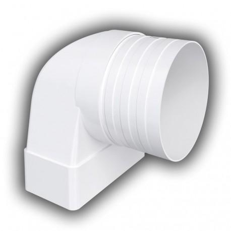 59-3450 Koleno/redukce D/KLZ 220x55 mm/d125 mm 90°