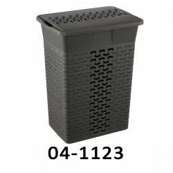 04-1123 Koš na prádlo BASK 35L - šedý