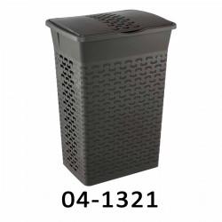04-1321 Koš na prádlo BASK 55L - šedý
