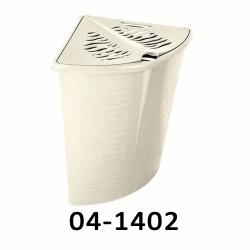 04-1402 Koš na prádlo rohový ZEBRA 45L