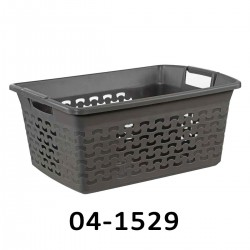 04-1529 Koš na prádlo BASK 30L - šedý
