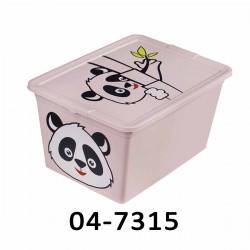 04-1553 Úložný box ANIMAL - 15L - různé dekory