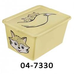 04-3052 Úložný box ANIMAL - 30L - čtyři dekory