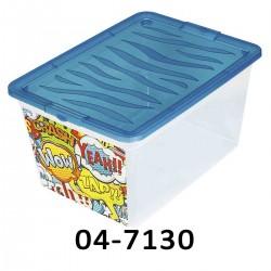 Úložný box 7130 - 30L - různé dekory