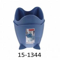 Odkapávač na příbory CASA 15-1344 - modrý