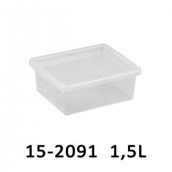 Úložný box BASIC BOX 1,5L 15-2291