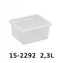 Úložný box BASIC BOX 2,3L 15-2292