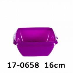 Mísa čtvercová 16 cm 17-0658