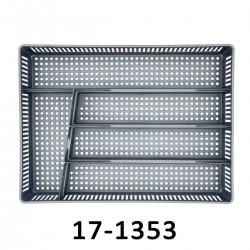 Příborník děrovaný AZUR 17-1353 - béžový