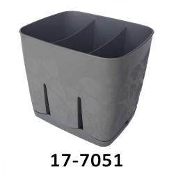 Odkapávač na příbory TILIA 17-7051 - stříbrný