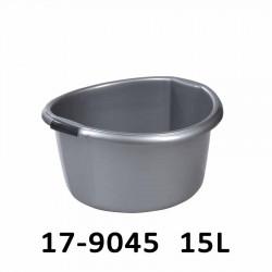 Lavor kulatý se silnými úchyty SOLID 15L 17-9045