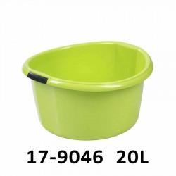 Lavor kulatý se silnými úchyty SOLID 20L 17-9046