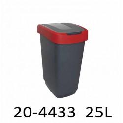 Odpadkový koš KLIP 25L 20-4433