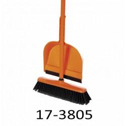 Zamétací sada TANDEM: smeták s tyčí a lopatka 17-3805
