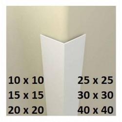 Rohová lišta L - bílá - délka 2750 mm - PVC
