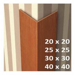 Rohová lišta L - světlý buk - délka 2750 mm - PVC