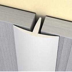 Lišta T 16 x 8 mm, délka 2750 mm - PVC - bílá