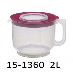 Mísa na šlehání s odměrkou 2L 15-1360