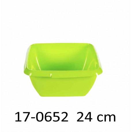 Mísa čtvercová 24 cm 3,4L 17-0652