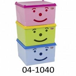 Úložný box pro děti SMILEY 04-1040